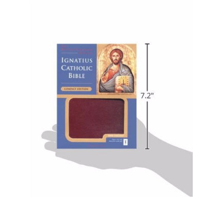 Ignatius Bible RSV2CE (Compact) (Leather Cover)
