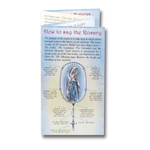 Mysteries & How to Pray the Rosary Folder