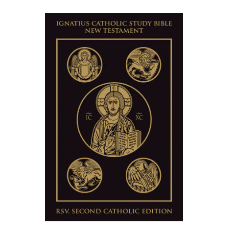 New Testament: Ignatius Catholic Study Bible (Leather Cover)