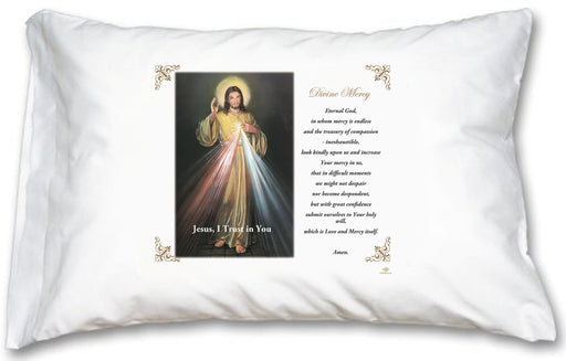 Divine Mercy Pillow Case - English Prayer