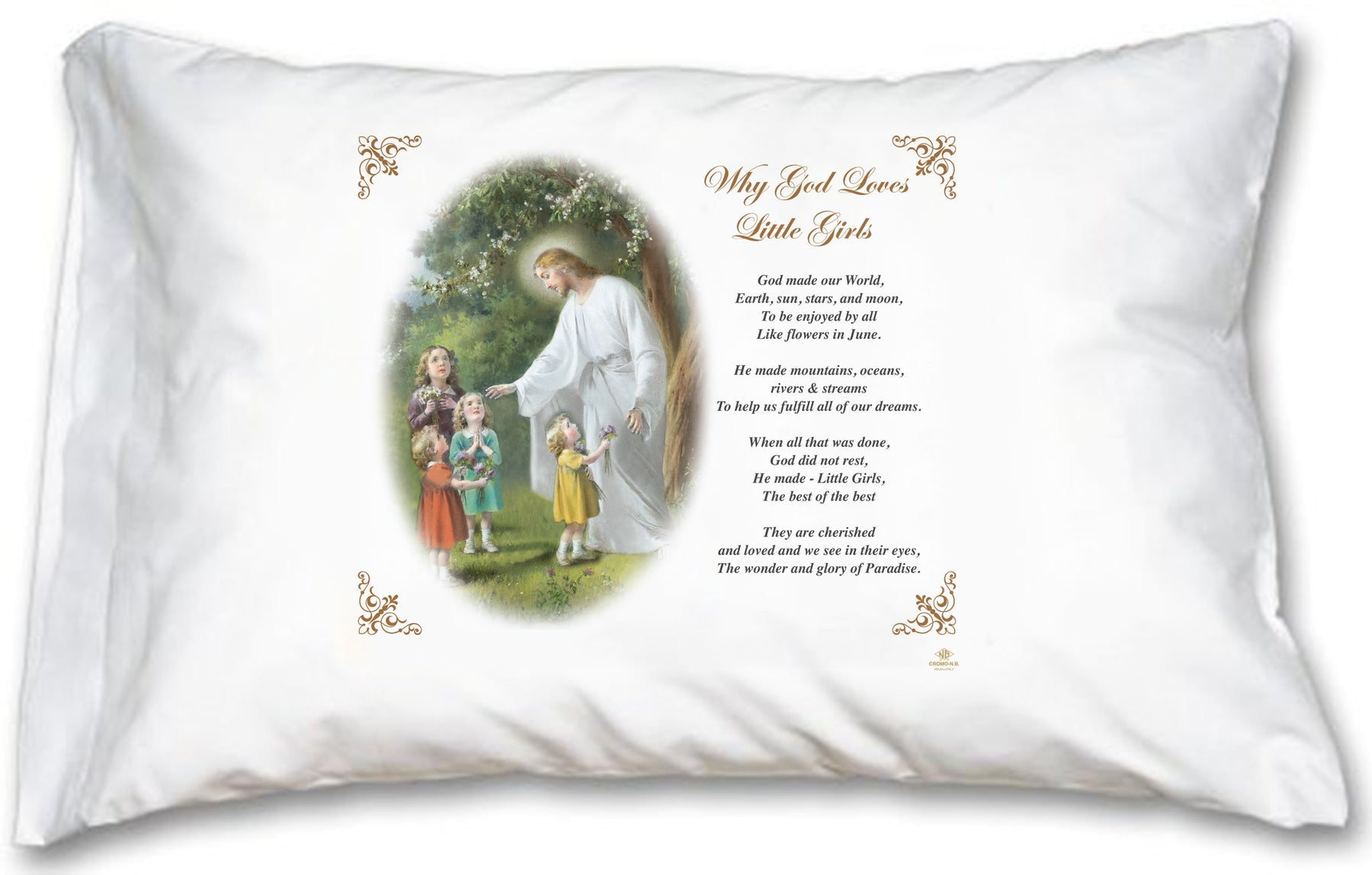Why GOD Loves Little Girls - English Prayer
