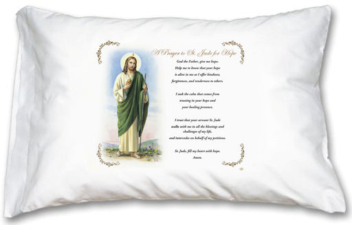 St. Jude Pillow Case - English Prayer