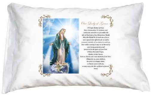 Miraculous Pillow Case - English Prayer