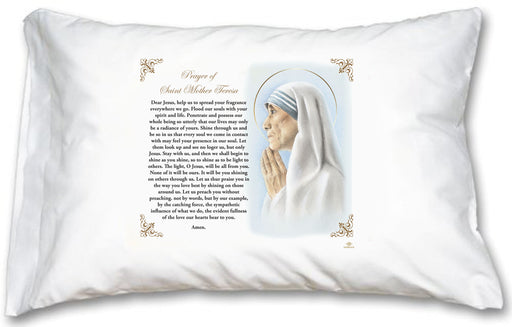 St Mother Teresa Pillow Case - English Prayer