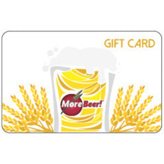 Morebeer gift card for homebrewers
