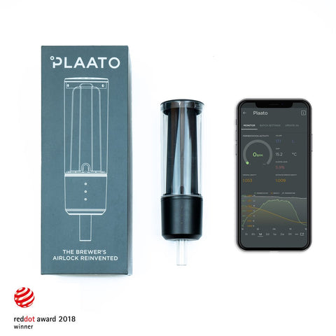 Plaato airlock and fermentation analyzer for homebrewers of beer and wine