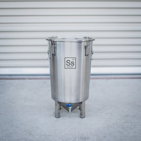 Stainless Steel fermenter from SS Brew Tech sold by MoreBeer.com