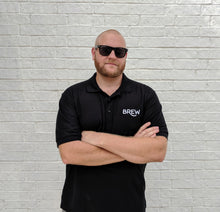 Load image into Gallery viewer, Brew Embroidered Polo Shirt - Homebrewsy.com