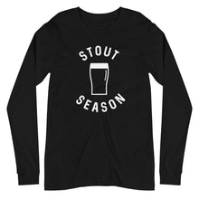 Load image into Gallery viewer, Stout Season Long Sleeve T-Shirt - Homebrewsy.com