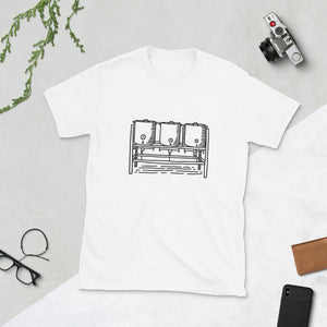 Homebrewer Three Kettle Setup T-Shirt - Homebrewsy.com