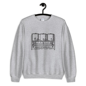 Three Kettle Sweatshirt - Homebrewsy.com