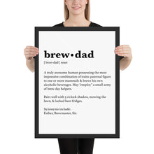 Load image into Gallery viewer, Brew Dad Poster - Homebrewsy.com