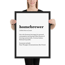 Load image into Gallery viewer, Homebrewer Poster - Homebrewsy.com