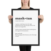 Load image into Gallery viewer, Mash Tun Poster - Homebrewsy.com