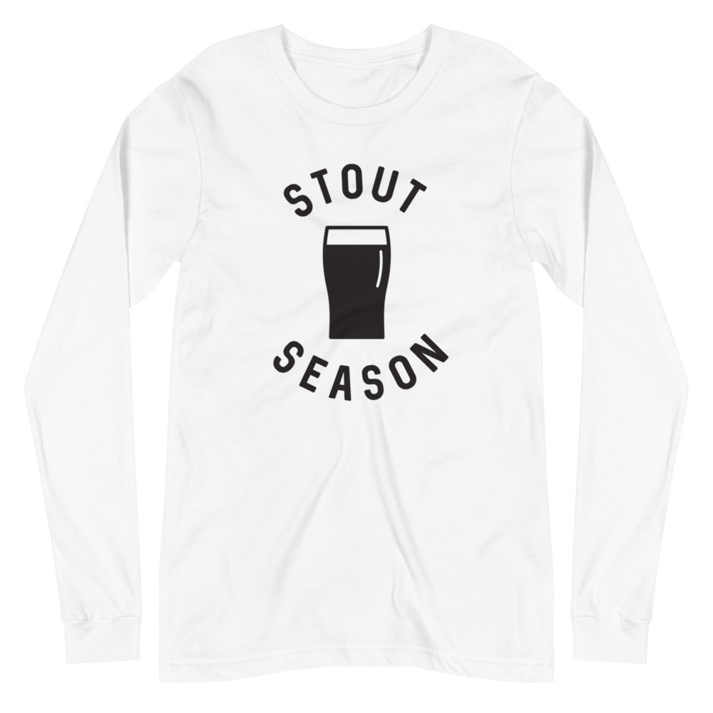 Stout Season Long Sleeve T-Shirt - Homebrewsy.com