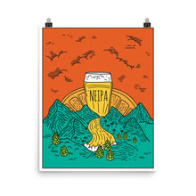 Load image into Gallery viewer, NEIPA Poster - Homebrewsy.com