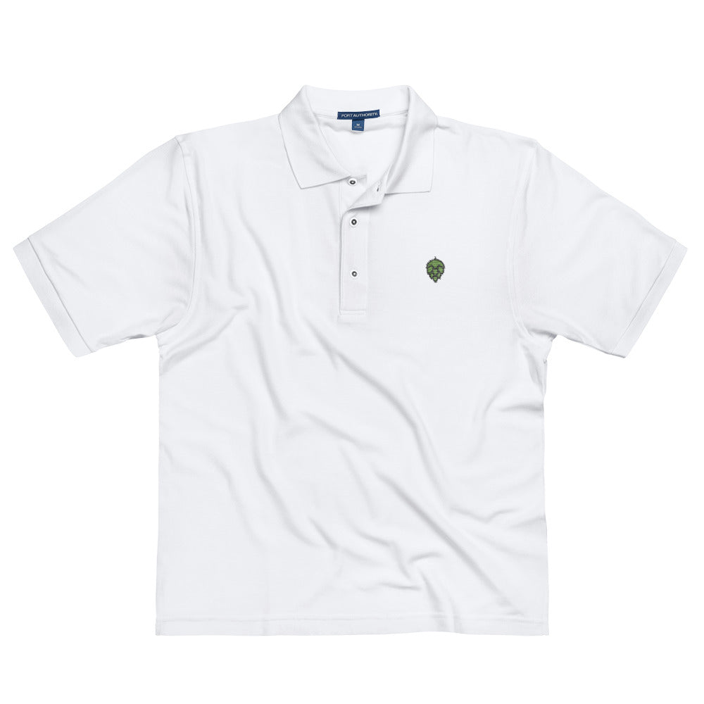Hoppy Embroidered Polo Shirt - Homebrewsy.com