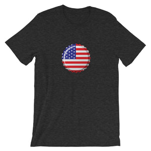Old Glory Crown Cap T-Shirt - Homebrewsy.com