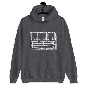 Three Kettle Hoodie - Homebrewsy.com
