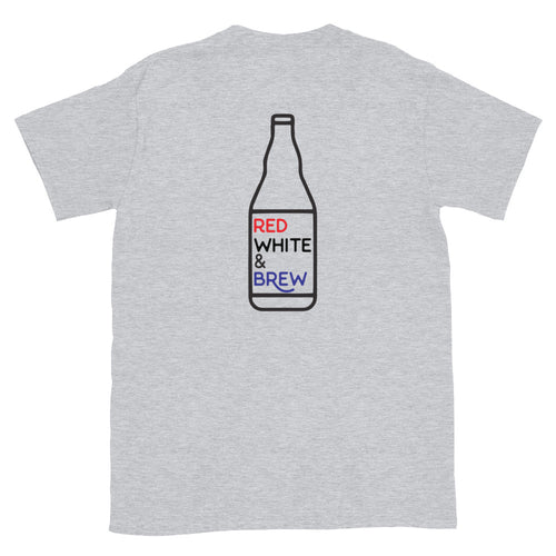Brewed in USA T-Shirt - Homebrewsy.com