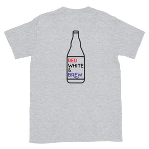 Brewed in USA T-Shirt - Homebrewsy
