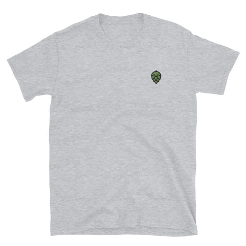 Hoppy Embroidered T-Shirt - Homebrewsy.com