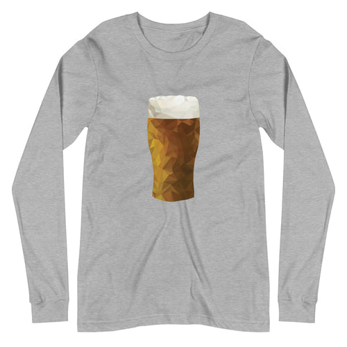 Geo Pint Long Sleeve T-Shirt - Homebrewsy.com