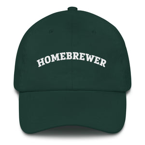 Homebrewer Dad Hat - Homebrewsy.com