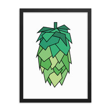 Load image into Gallery viewer, Geometric Hop Poster - Homebrewsy.com