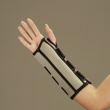 Premium Wrist and Wrist/Forearm Splint  LEFT 10