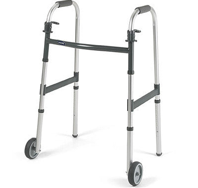 "Invacare I-Class Adult Paddle Walker - 5"" Fixed Wheels"