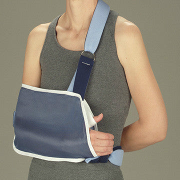 Shoulder Immobilizer w/ Foam Straps   RIGHT/LEFT EXTRA LARGE