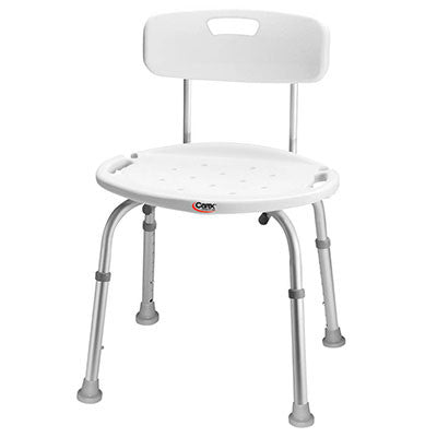 Adjustable Bath & Shower Seat with Back