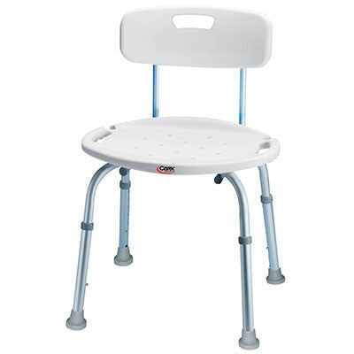 Classics Bath & Shower Seat with Back
