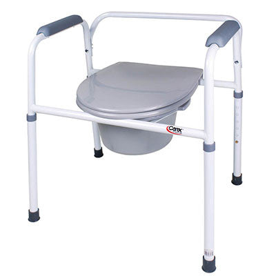 Bedside Steel Commode