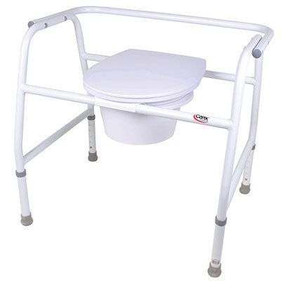 Extra-Wide Steel Commode