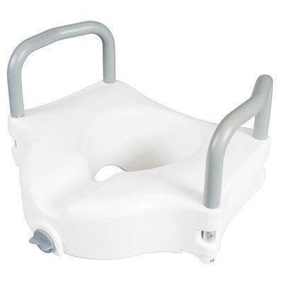 Classics Raised Toilet Seat with Arms