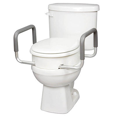 Toilet Seat Elevator with Arms - Round