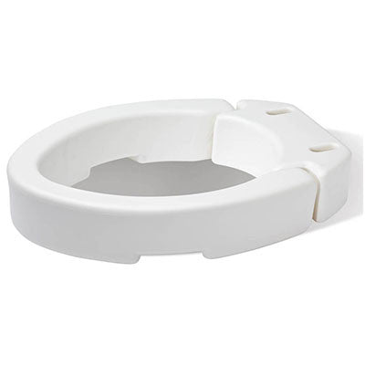 Hinged Toilet Seat Riser - Elongated
