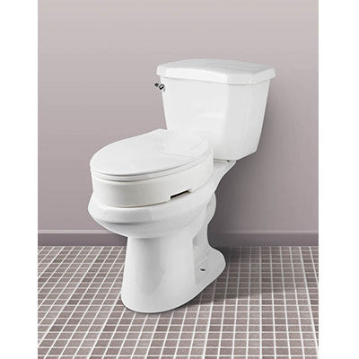 Hinged Toilet Seat Riser Elongated Franciscan Companies