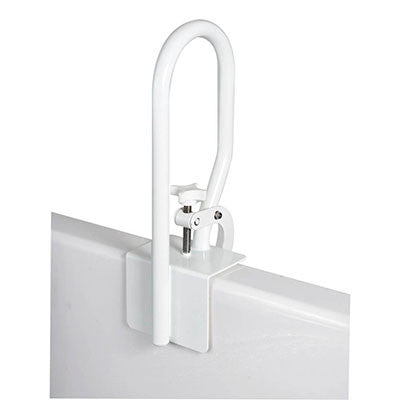 White Bathtub Rail
