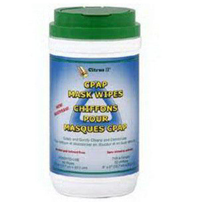 Beaumont Products Inc Citrus II® CPAP Mask Wipe 62 Wipes/Tube