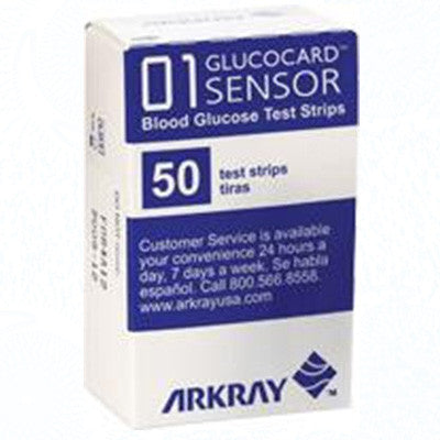 Glucocard® Blood Glucose Test Strip