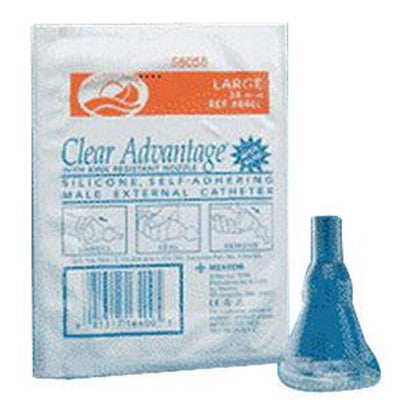 Freedom Clear Advantage Self-Adhering Male External Catheter, 28 mm