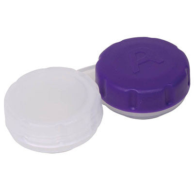 Deluxe Contact Lense Cases - 2 Pack