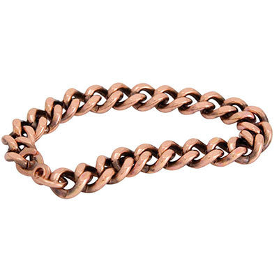 Copper Bracelet (Wide Link)