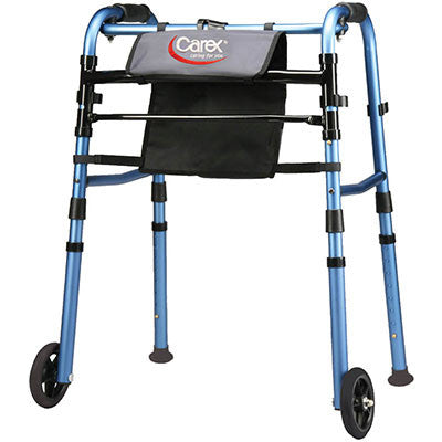 Explorer® Folding Walker with Wheels
