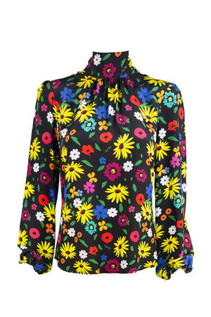 Stevie Blouse - Wildflower Print