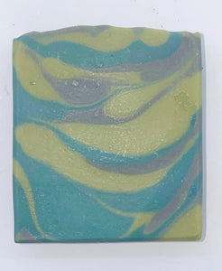 Cedar and saffron artisan soap