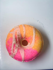 Pineapple and peach Donut